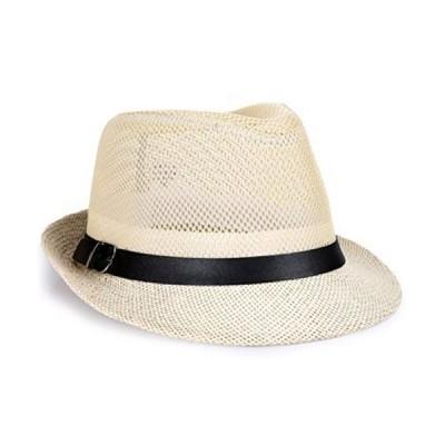 「サ二ー」 麦わら帽子 メンズ 折り畳み 大きいサイズ メッシュ 農作業 レディース ユニセックス 日よけ メッ?