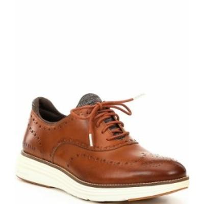 コールハーン メンズ ドレスシューズ シューズ Men's Original Grand Ultra Wingtip Shoes Cole Haan British Tan