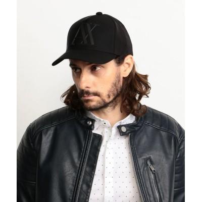 A X ARMANI EXCHANGE / 【A Xアルマーニ エクスチェンジ】ビッグラバーAXロゴ パネルキャップ MEN 帽子 > キャップ