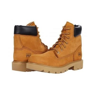 """Timberland PRO ティンバーランド メンズ 男性用 シューズ 靴 ブーツ ワークブーツ Sawhorse 6"""" Composite Safety Toe - Wheat"""