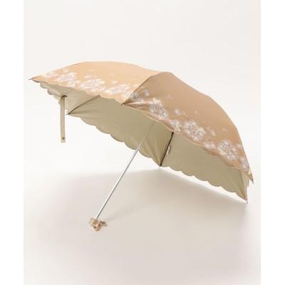 """MOONBAT / 晴雨兼用折りたたみ傘 """"フラワー ハート"""" WOMEN ファッション雑貨 > 折りたたみ傘"""