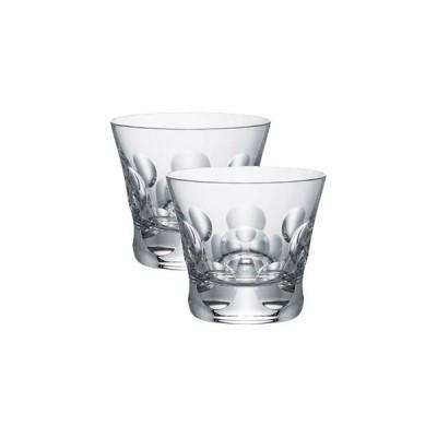 バカラ ロックグラス ペアセット  ベルーガ タンブラー2客組 バカラペアギフト箱入 2-104-387 クリスタルガラス製