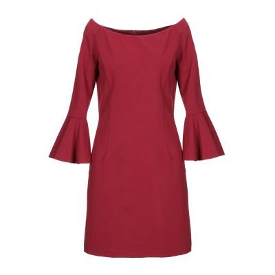 レリッシュ RELISH ミニワンピース&ドレス レッド 46 レーヨン 70% / ナイロン 25% / ポリウレタン 5% ミニワンピース&ドレス
