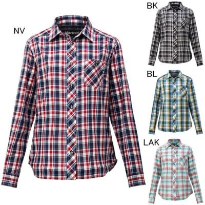 マーモット レディースファッション カジュアルシャツ 長袖 ウィメンズ QD Check L/S Shirt Marmot TOWNJB76