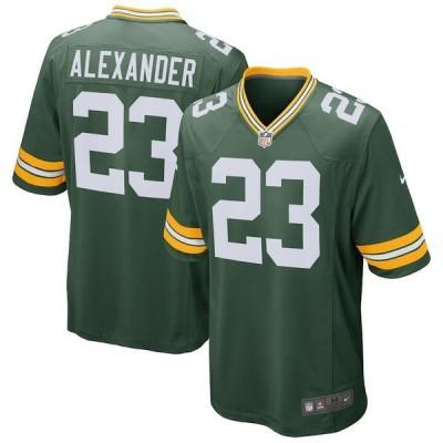 ナイキ メンズ Tシャツ トップス Jaire Alexander Green Bay Packers Nike Game Jersey