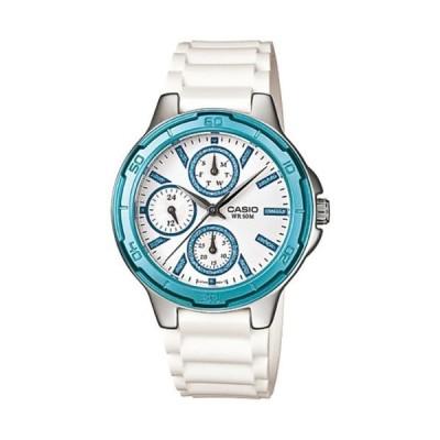 腕時計 カシオ レディース LTP-1326-2A Casio Women's LTP1326-2AV Silver Resin Quartz Watch with White