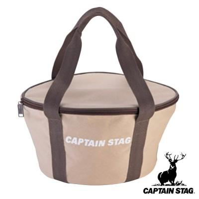 アウトドア ダッチオーブンバッグ フタ付 30cm用 キャプテンスタッグ CAPTAIN STAG ( ダッチオーブン 用 収納 バッグ ケース 持ち運び 移動 )