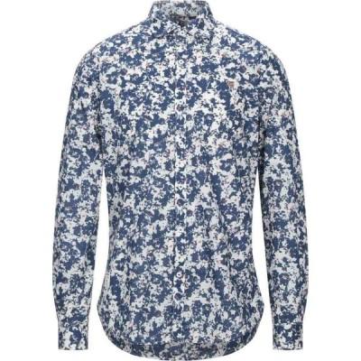 ナパピリ NAPAPIJRI メンズ シャツ トップス Patterned Shirt Blue