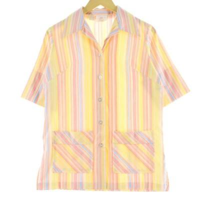 70年代 Lori Lynn オープンカラーシャツ レディースM /eaa067400