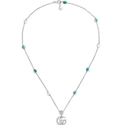 グッチ GUCCI レディース ネックレス ジュエリー・アクセサリー Gg Pendant Necklace Sterling Silver