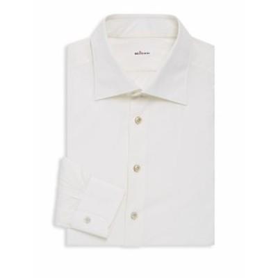 アブラ Men Clothing Front Button Cotton Dress Shirt