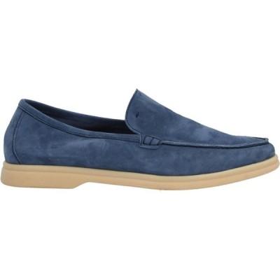 アンドレア ヴェントゥーラ ANDREA VENTURA FIRENZE メンズ ローファー シューズ・靴 loafers Pastel blue