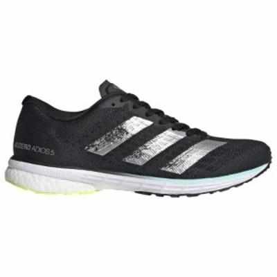 アディダス adidas レディース 陸上 シューズ・靴 adiZero Adios 5 Core Black/Silver Metallic/Solar Yellow