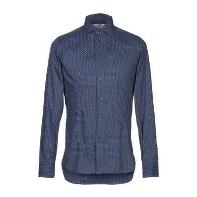 VELA MASSIMO REBECCHI シャツ ダークブルー 39 コットン 74% / ナイロン 20% / 伸縮繊維 6% シャツ