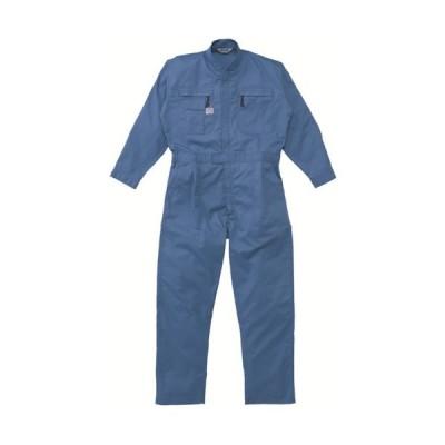 AUTO−BI ツナギ服 Lサイズ ブルー (1着) 品番:5750-BL-L