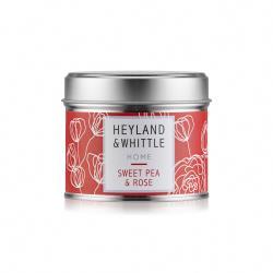 H&W 英倫薇朶 玫瑰香豌豆香氛燭罐180g(HOME系列)