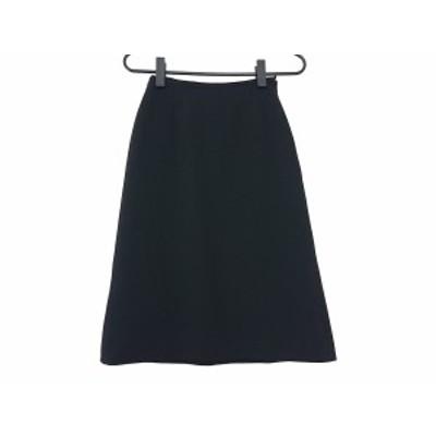 ジョルジオアルマーニ GIORGIOARMANI スカート サイズ36 S レディース 黒【中古】20201202