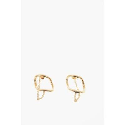 MAISON MARGIELA メゾン マルジェラ Gold ジュエリー レディース MM11 Brass Earrings 【関税・送料無料】【ラッピング無料】 dk