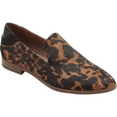 ロックポート Rockport レディース ローファー・オックスフォード シューズ・靴 Perpetua Plain Loafer Leopard Suede