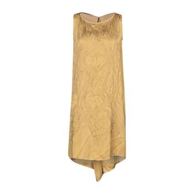 マスナダ MASNADA ミニワンピース&ドレス ミリタリーグリーン S ポリエステル 100% ミニワンピース&ドレス