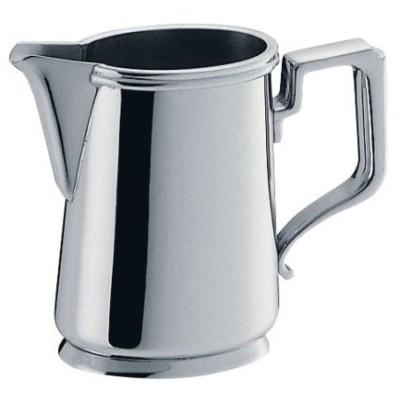コーヒー器具 コーヒー用品 ステンレス製 小判型ミルクポット 蓋無  5人用(7-1842-2501)