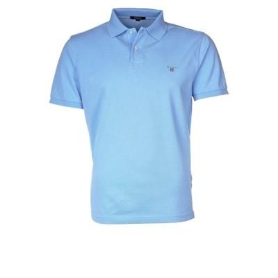 ガント ポロシャツ メンズ トップス THE ORIGINAL RUGGER - Polo shirt - capri blue