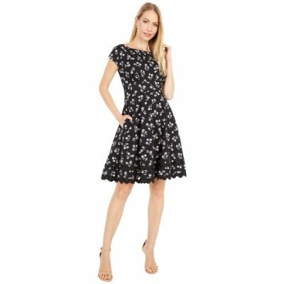 ケイト スペード ワンピース トップス レディース Dandelion Floral Ponte Dress Black