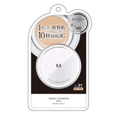 【定形外郵便OK】MISSHAミシャ Mクッションマット ファンデーションNo.21(明るい肌色) 15g