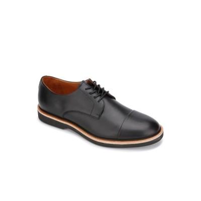 ジェントルソウルズ オックスフォード シューズ メンズ Greyson Buck Men's Lace Up Oxford Cap Toe Shoes Black