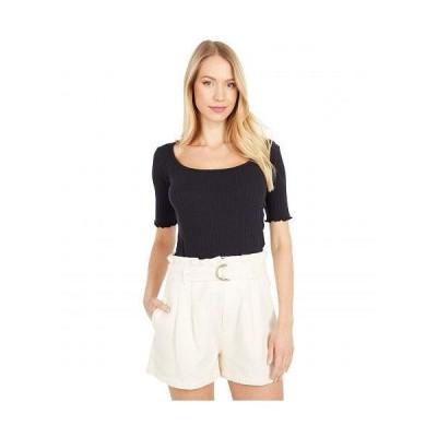 Billabong ビラボン レディース 女性用 ファッション Tシャツ Halfway There - Black