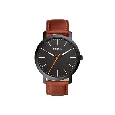 腕時計 フォッシル メンズ BQ2310IE Fossil Men's Luther Three-Hand Black-Tone Stainless Steel Watch B
