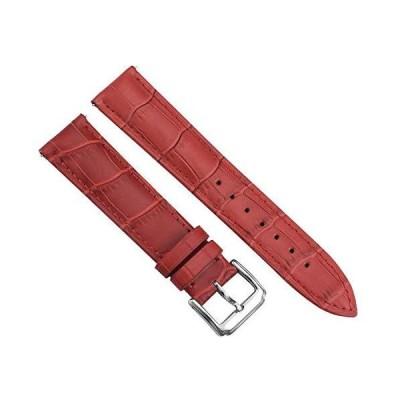 BINLUN 時計バンド 時計ベルト ポリウレタンPU人造皮革バンド 腕時計用 交換 バンド 交換便利 男女通用
