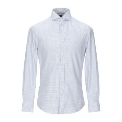 ブルネロ クチネリ BRUNELLO CUCINELLI シャツ ライトグレー XS コットン 100% シャツ