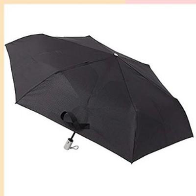 [ムーンバット] urawaza(ウラワザ) 自動開閉式折りたたみ傘 無地 ブラック 55?【3秒で折りたためる傘】