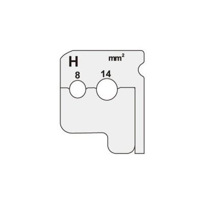 【法人限定】DIV-814KP (DIV814KP) ジェフコム デンサン DENSAN  ワイヤーストリッパー(IV線用替刃)