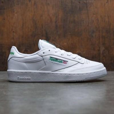 ユニセックス スニーカー シューズ Reebok Men Club C 85 (white / green)