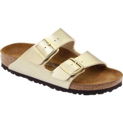 ビルケンシュトック Birkenstock レディース サンダル・ミュール シューズ・靴 Arizona Birko-Flor Sandal Gold Birko/Flor