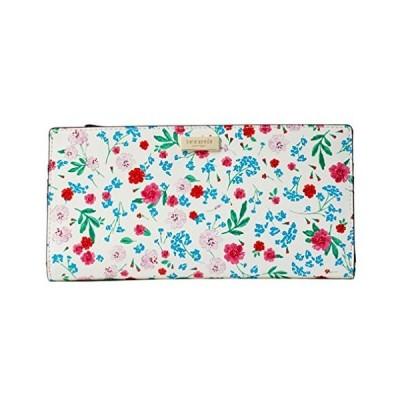 Kate Spade Gardner Street Greenhouse Floral Wallet - Cream Multi【並行輸入品】