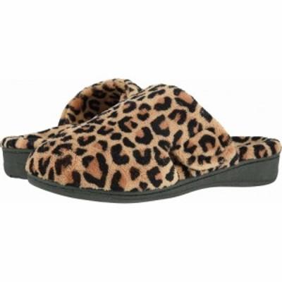 バイオニック VIONIC レディース スリッパ シューズ・靴 Gemma Natural Leopard
