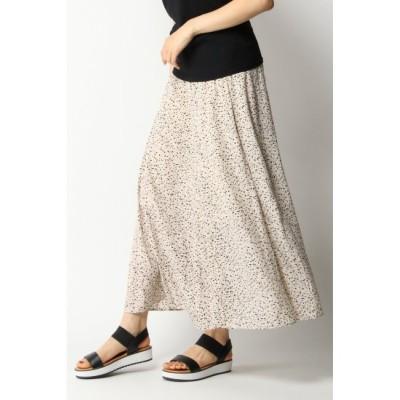 【イッカ/ikka】 切り替えフリュイドスカート