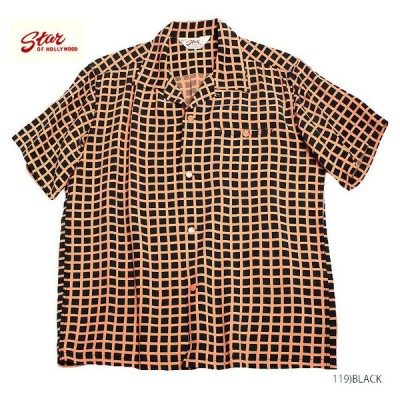 """STAR OF HOLLYWOODRAYON S/S""""SQUARE GRID""""Style No.SH38126"""