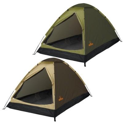 「120×200×110cm」Montagna(モンターナ) 組立式 2人用ドームテント HAC2696/HAC2697(21y5m)
