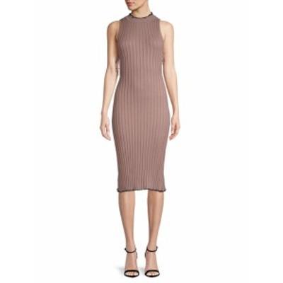 レディース ワンピース Hope Ribbed Midi Dress