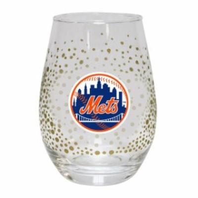 The Memory Company ザ メモリー カンパニー スポーツ用品  New York Mets Glitter Stemless Tumbler