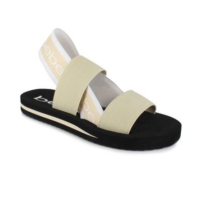 ベベ サンダル シューズ レディース Women's Atena Band Stretch Sandals Cream