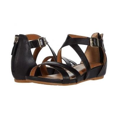Comfortiva コンフォーティヴァ レディース 女性用 シューズ 靴 サンダル Melody - Black Goat Light Pullup