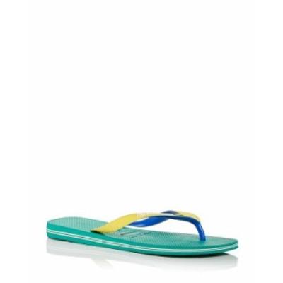 ハワイアナス メンズ サンダル シューズ Men's Brazil Mix Color Block Flip Flops Tropical