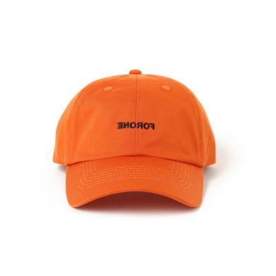 BEAMS MEN / FORONE / ミラーロゴ 6パネル キャップ MEN 帽子 > ハット