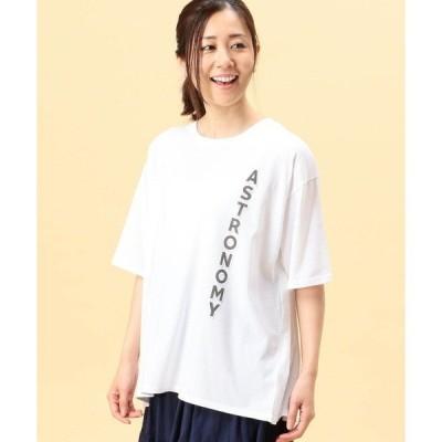 tシャツ Tシャツ バックタックロゴプリントTシャツ
