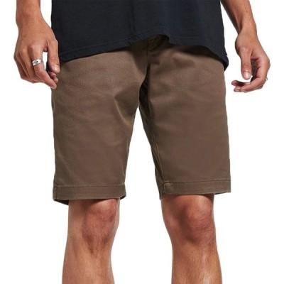 ボルコム Volcom メンズ ショートパンツ ボトムス・パンツ frickin modern stretch shorts Mushroom